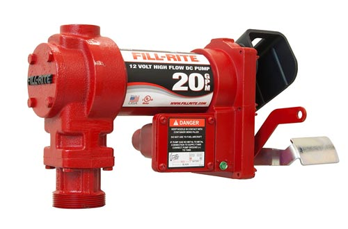 Fill-Rite FR4204G 12V 20 GPM Fuel Transfer Pump (Pump Only)