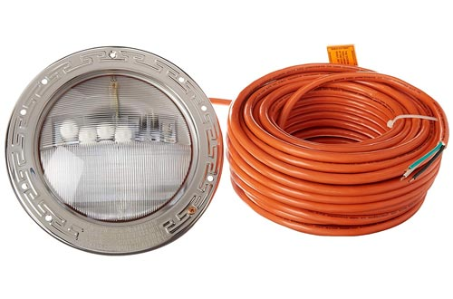 Pentair 601012 IntelliBrite 5G Color Underwater LED Pool Light, 12 Volt, 100 Foot Cord