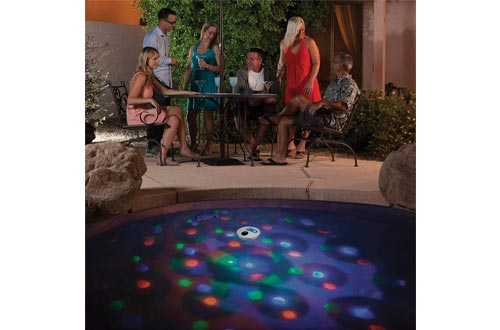 GAME 3546 Solar Underwater Light Show, 5.5 x 5.5 x 2.5 inches, Multicolor